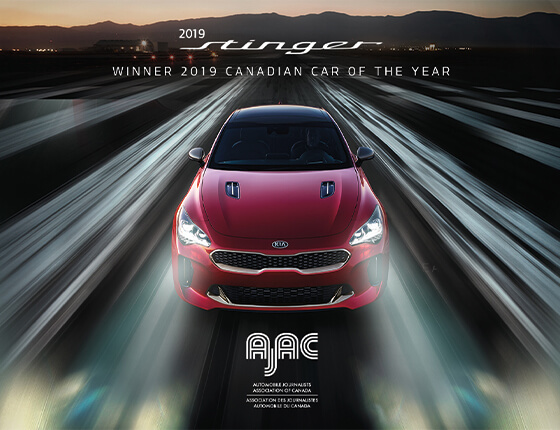 2019 Kia Stinger - AJAC Canadian Car of the Year