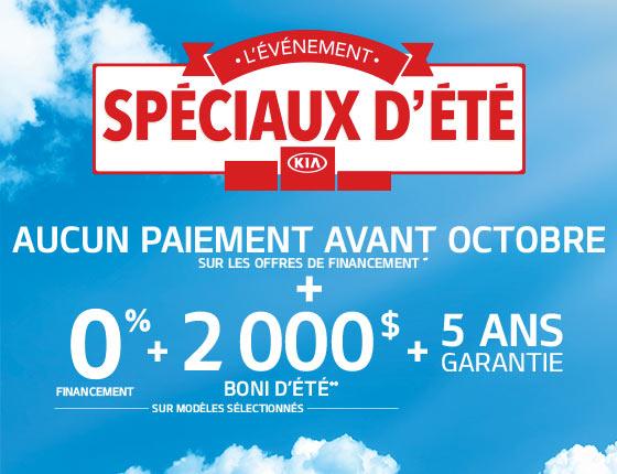 Kia Special Offer
